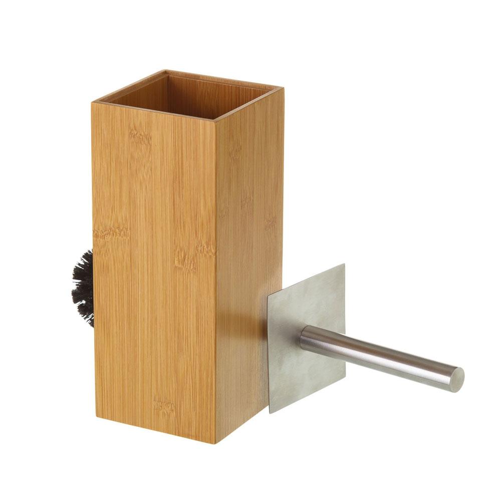 Brosse de toilettes bambou 10x23cm