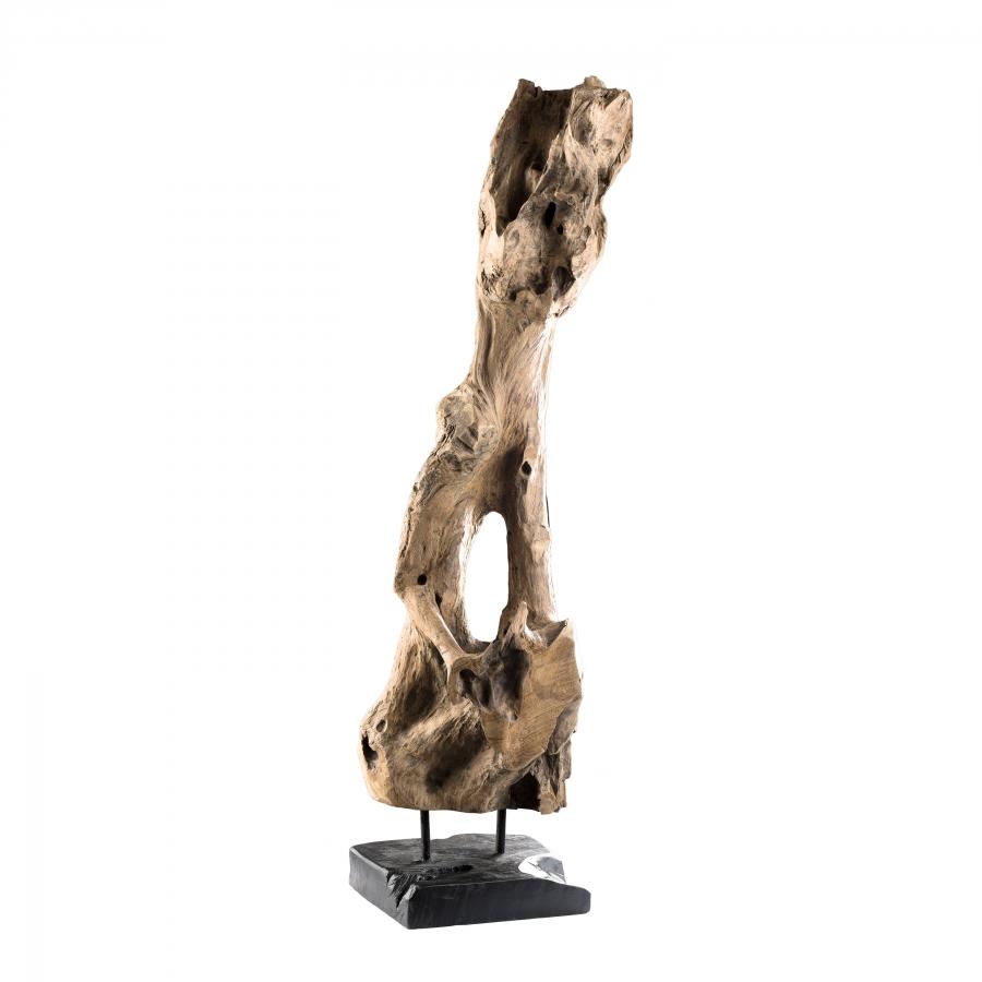 Objet décoration bois branche naturelle H106