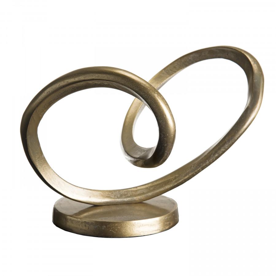 Décoration aluminium doré