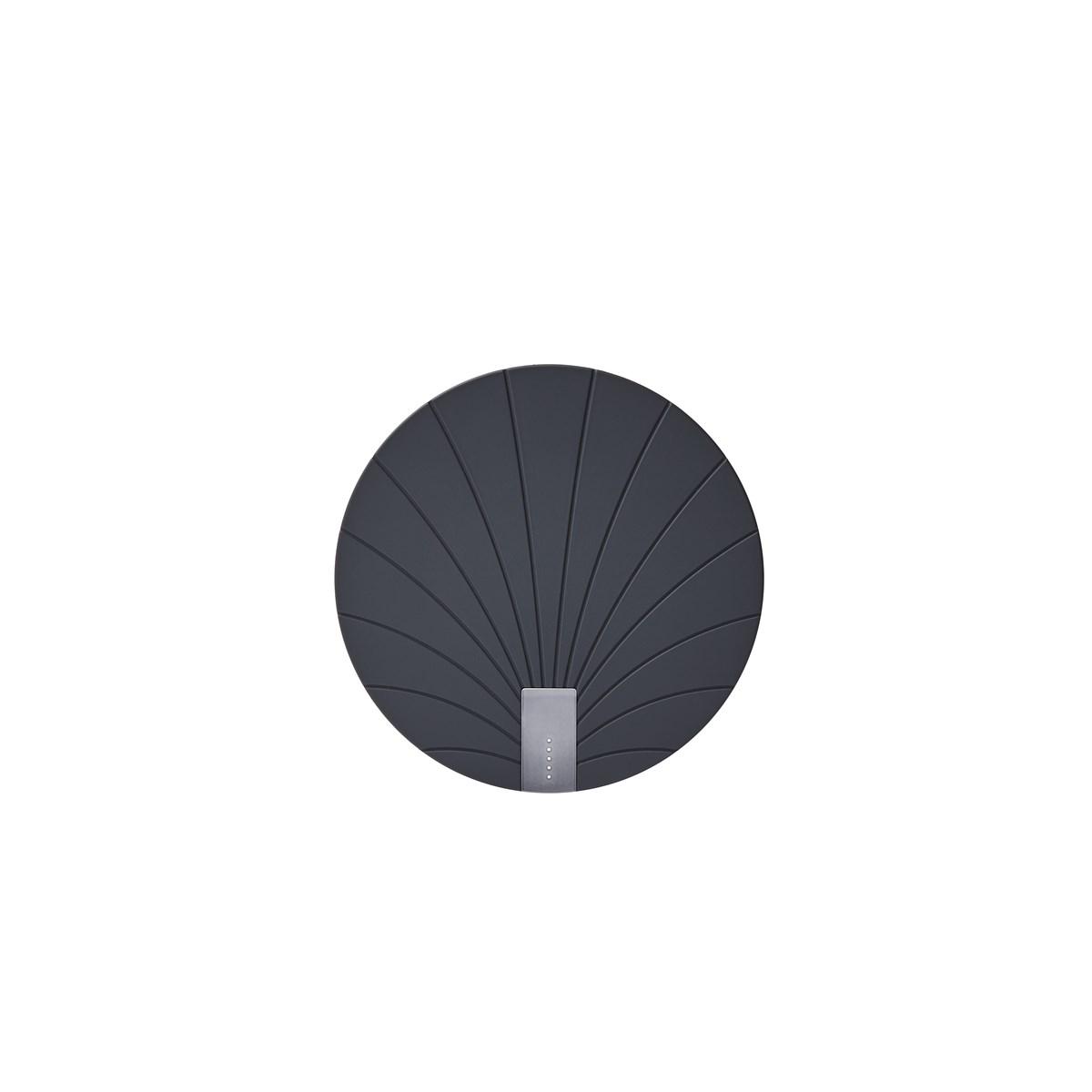 Batterie externe sans fil 5000 en ABS Noir