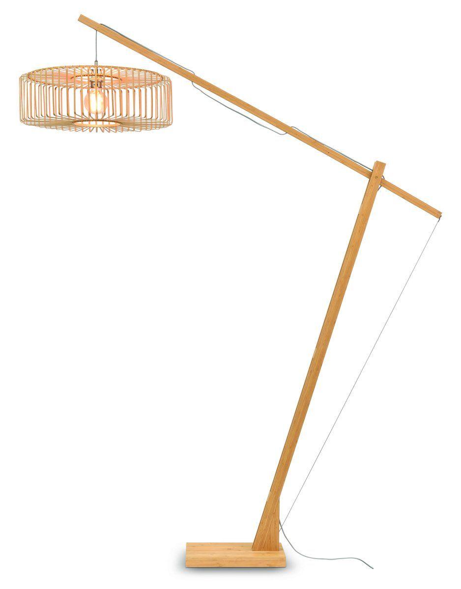 Lampadaire bambou H207cm