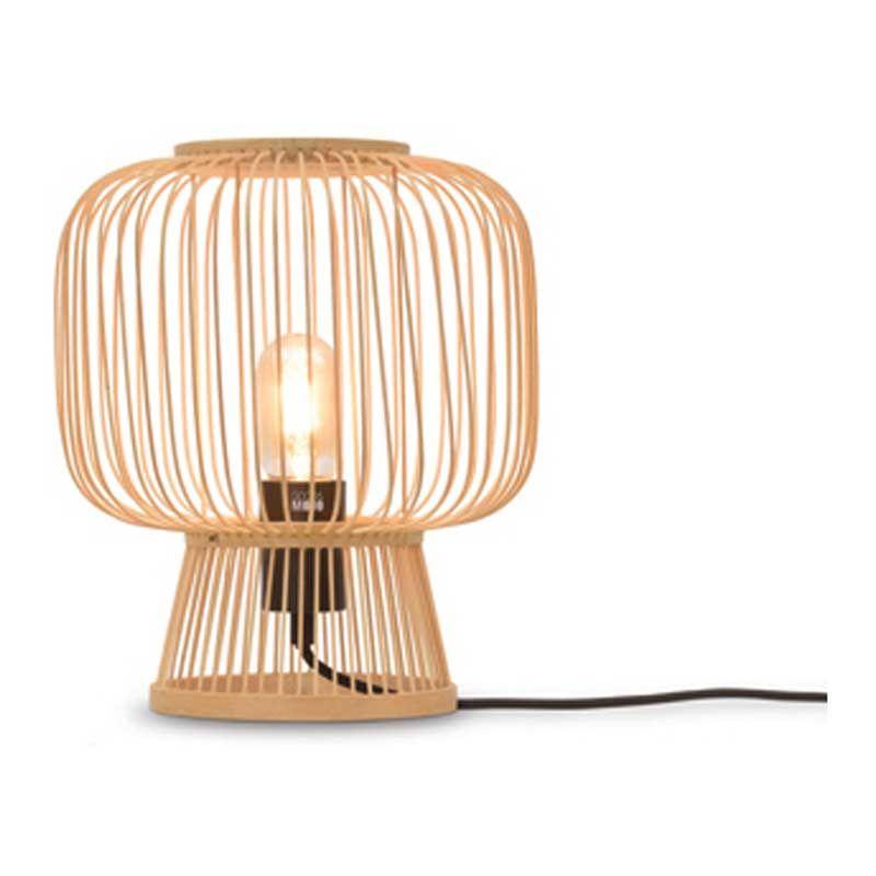 Lampe de table en bambou naturel H30cm