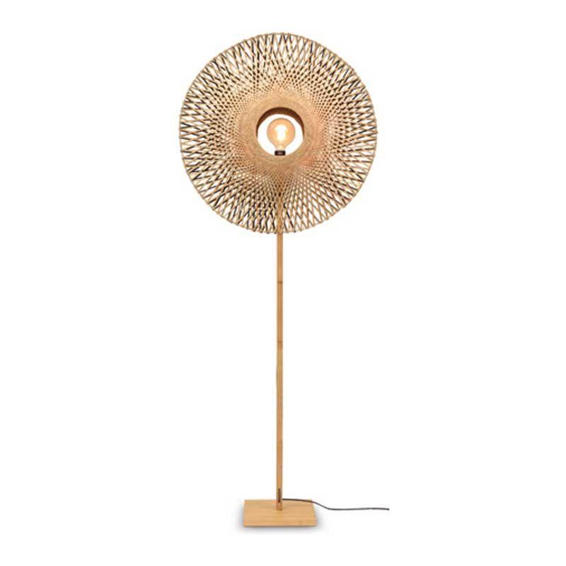 Lampadaire en bambou naturel H195cm