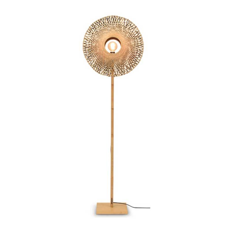 Lampadaire en bambou naturel H180cm