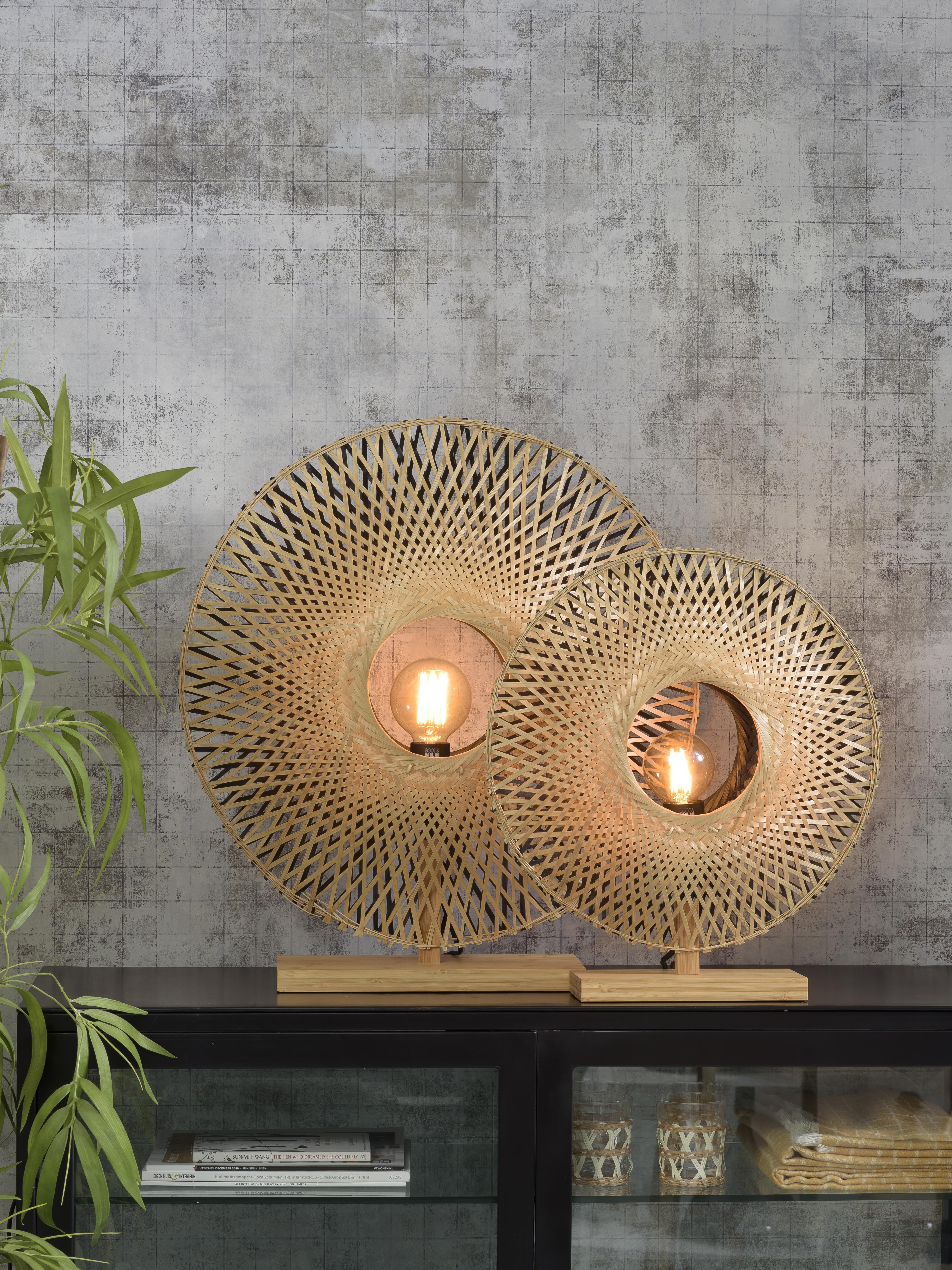 Lampe de table en bambou H50cm