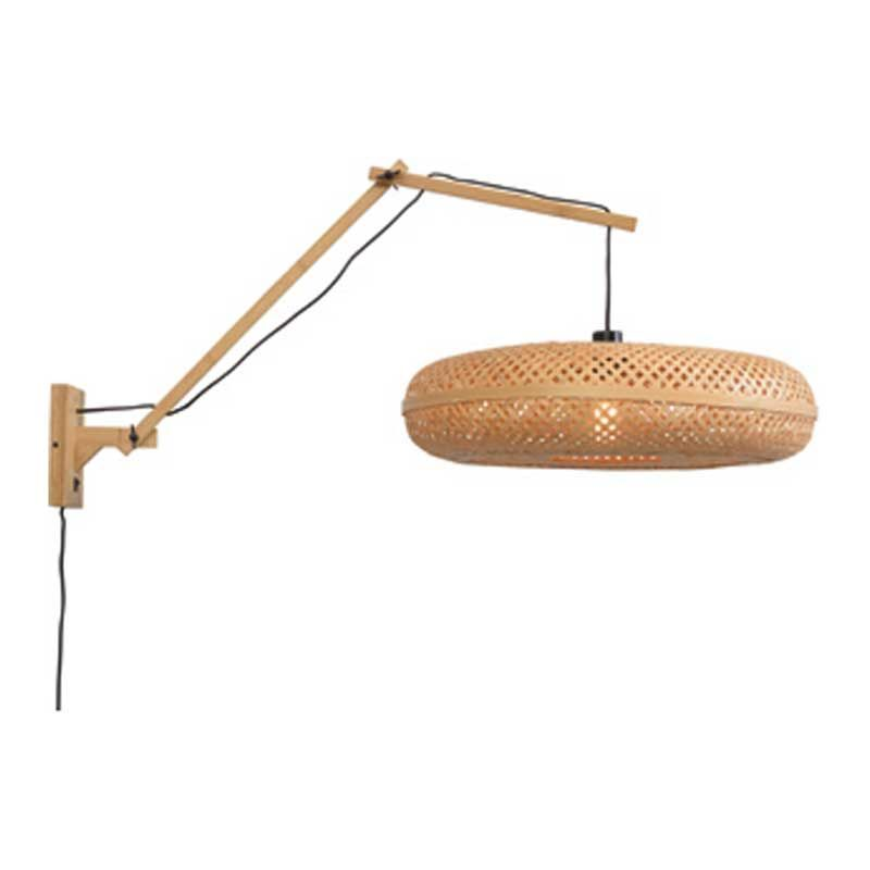 Applique bambou naturel 3 bras L105cm