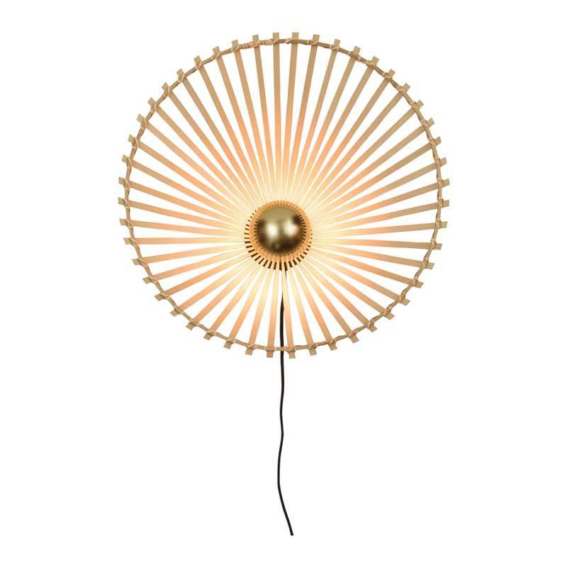 Applique asymétrique en bambou D50