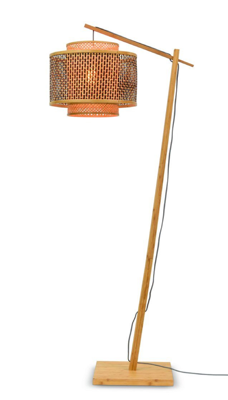 Lampadaire en bambou naturel H176cm