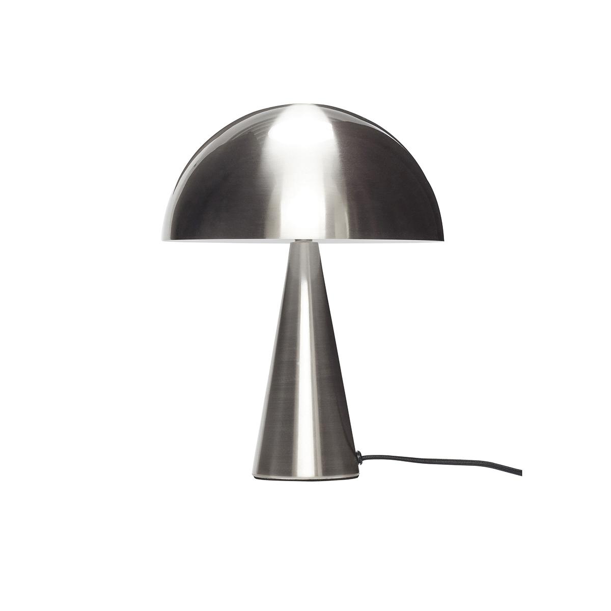 Lampe de table en nickel H33