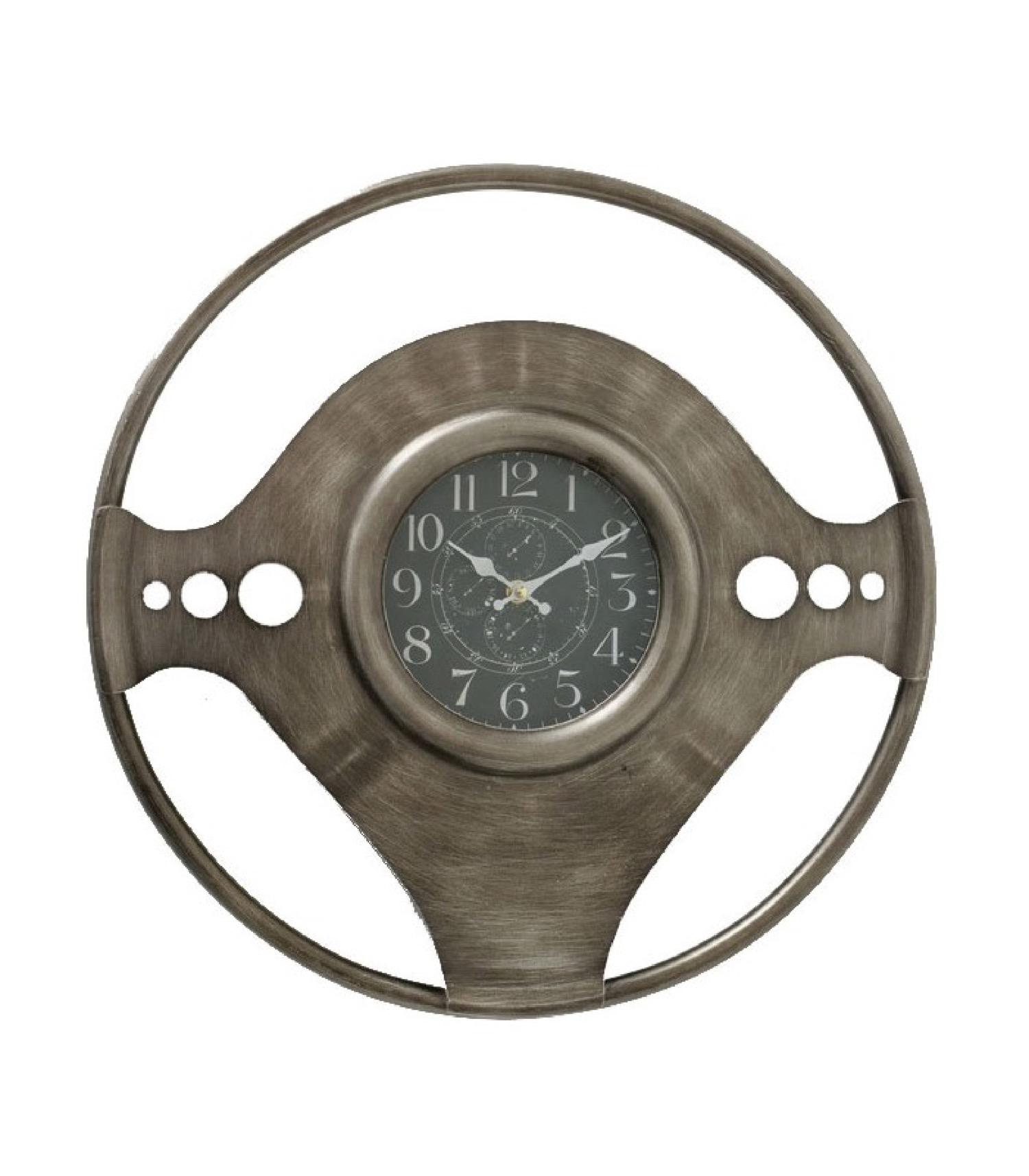 Horloge murale ronde racing D50