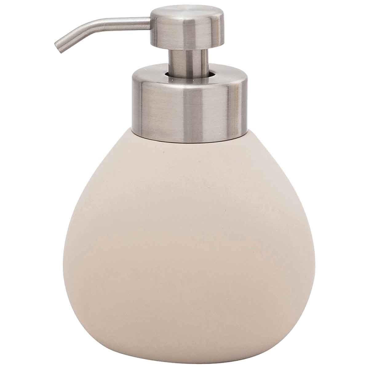 Distributeur de savon en céramique  Greige
