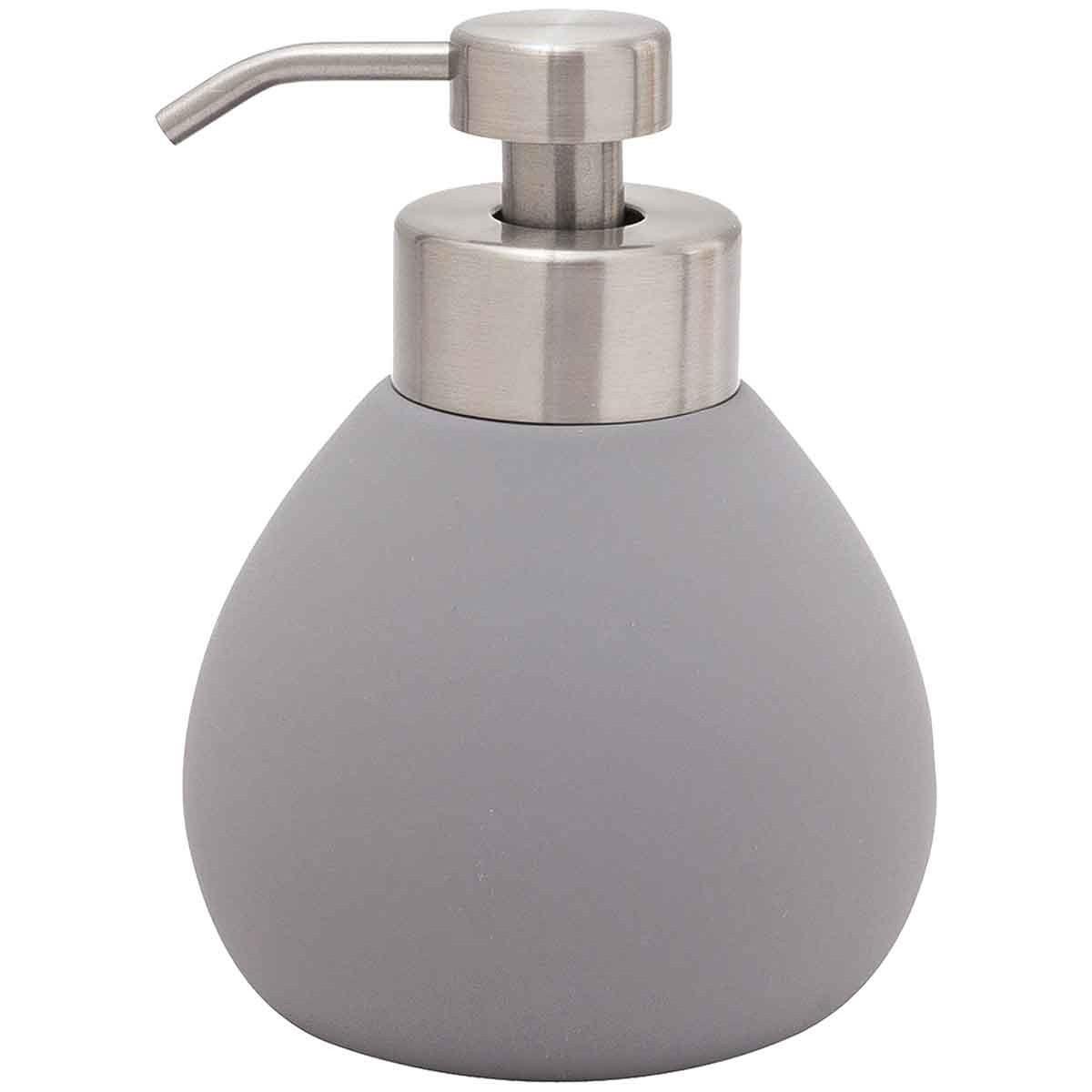 Distributeur de savon en céramique  Anthracite