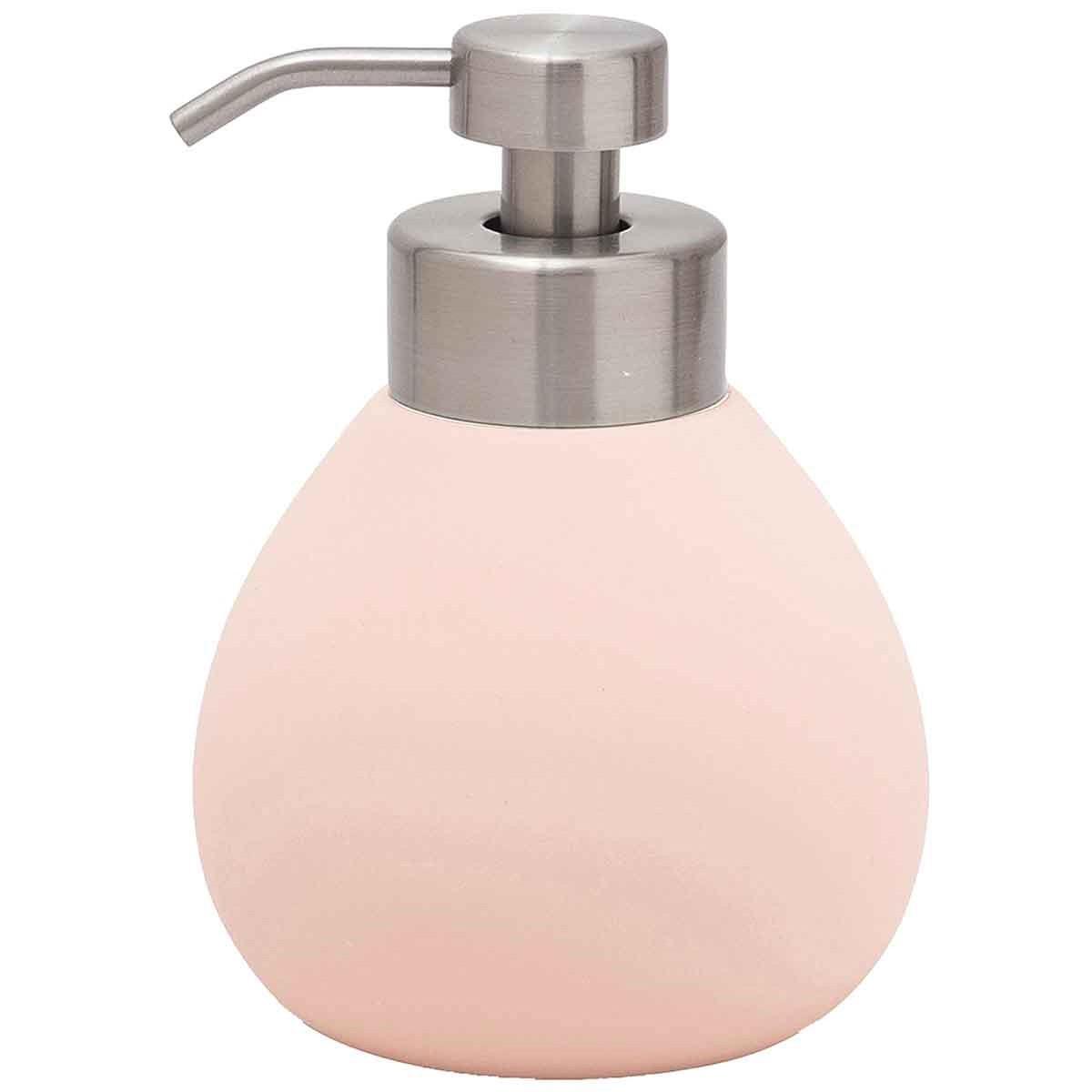 Distributeur de savon en céramique  Rose Poudre