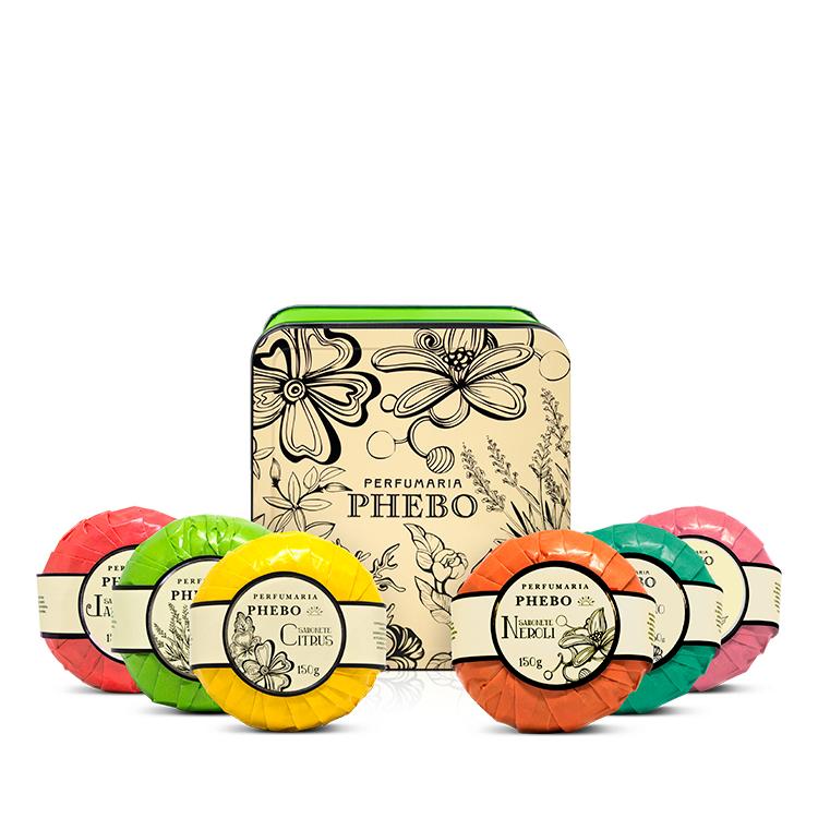 COFFRET LAVANDA - Coffret de 6 savons collection Águas de Phebo