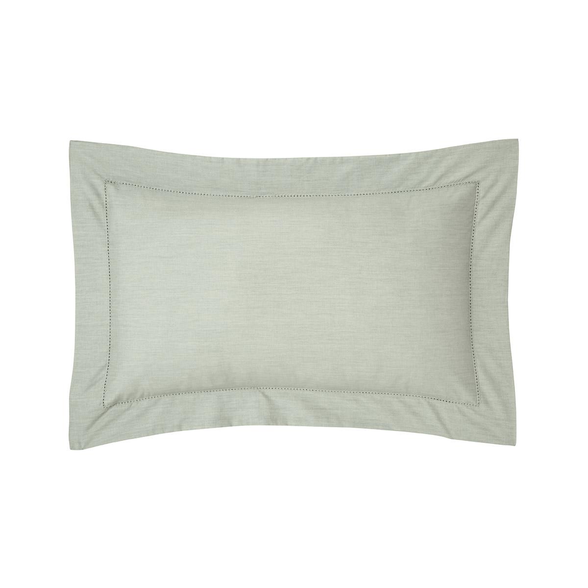 Taie d'oreiller percale Vert 30 x 40 cm