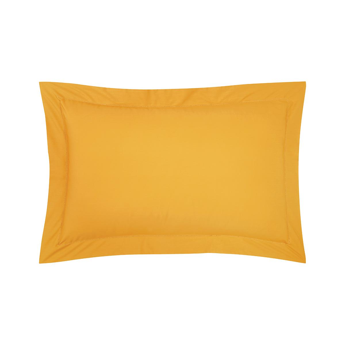 Taie d'oreiller percale Orange 50 x 75 cm
