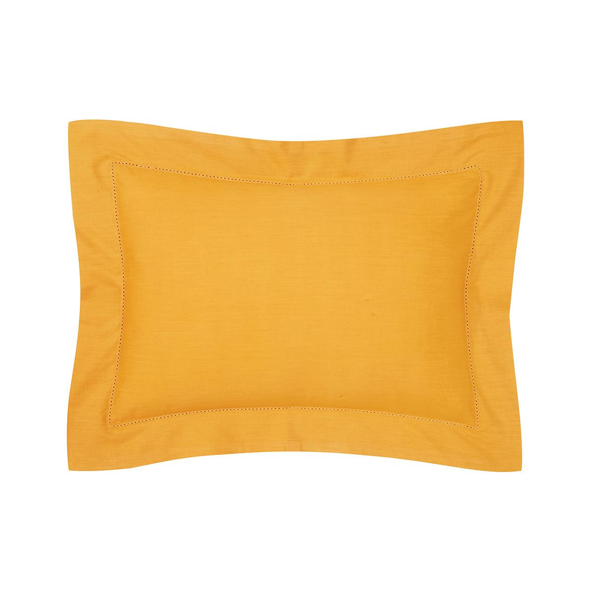 Taie d'oreiller percale Orange 30 x 40 cm