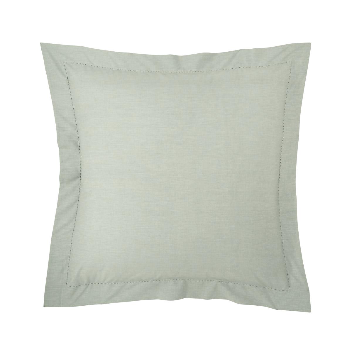 Taie d'oreiller percale Vert 65 x 65 cm