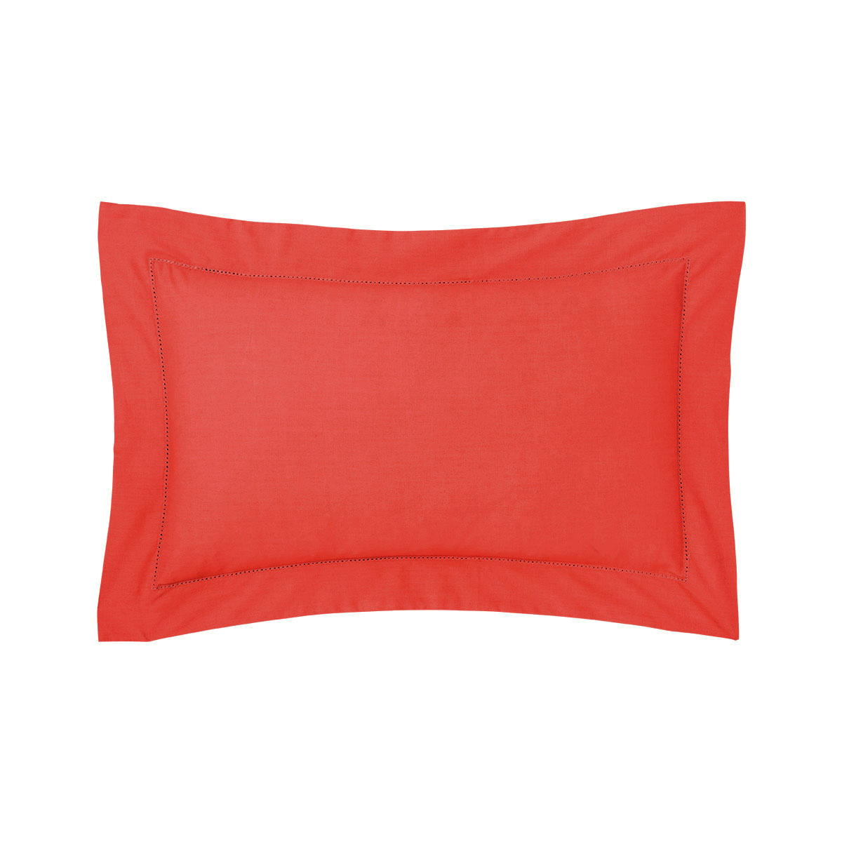 Taie d'oreiller percale Rouge 30 x 40 cm