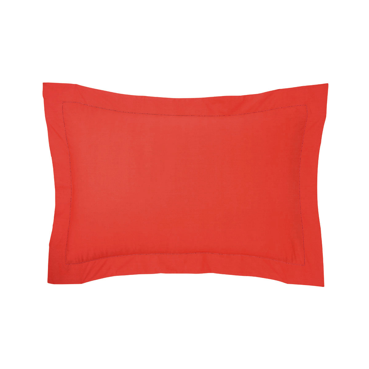 Taie d'oreiller percale Rouge 50 x 75 cm