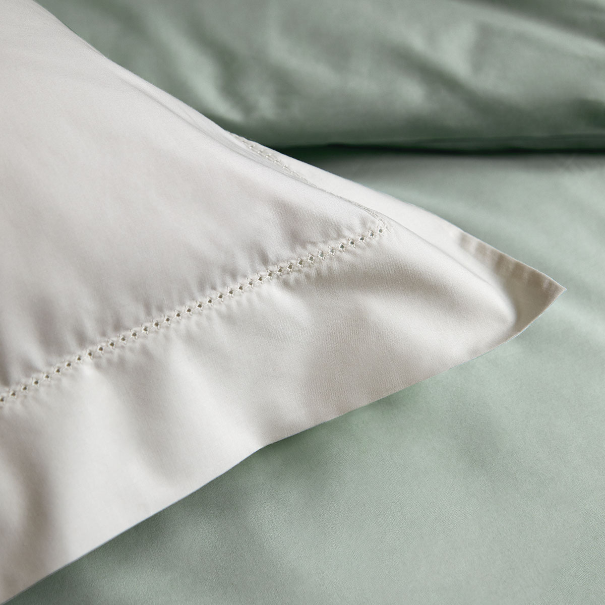 Drap plat percale Blanc 240 x 300 cm
