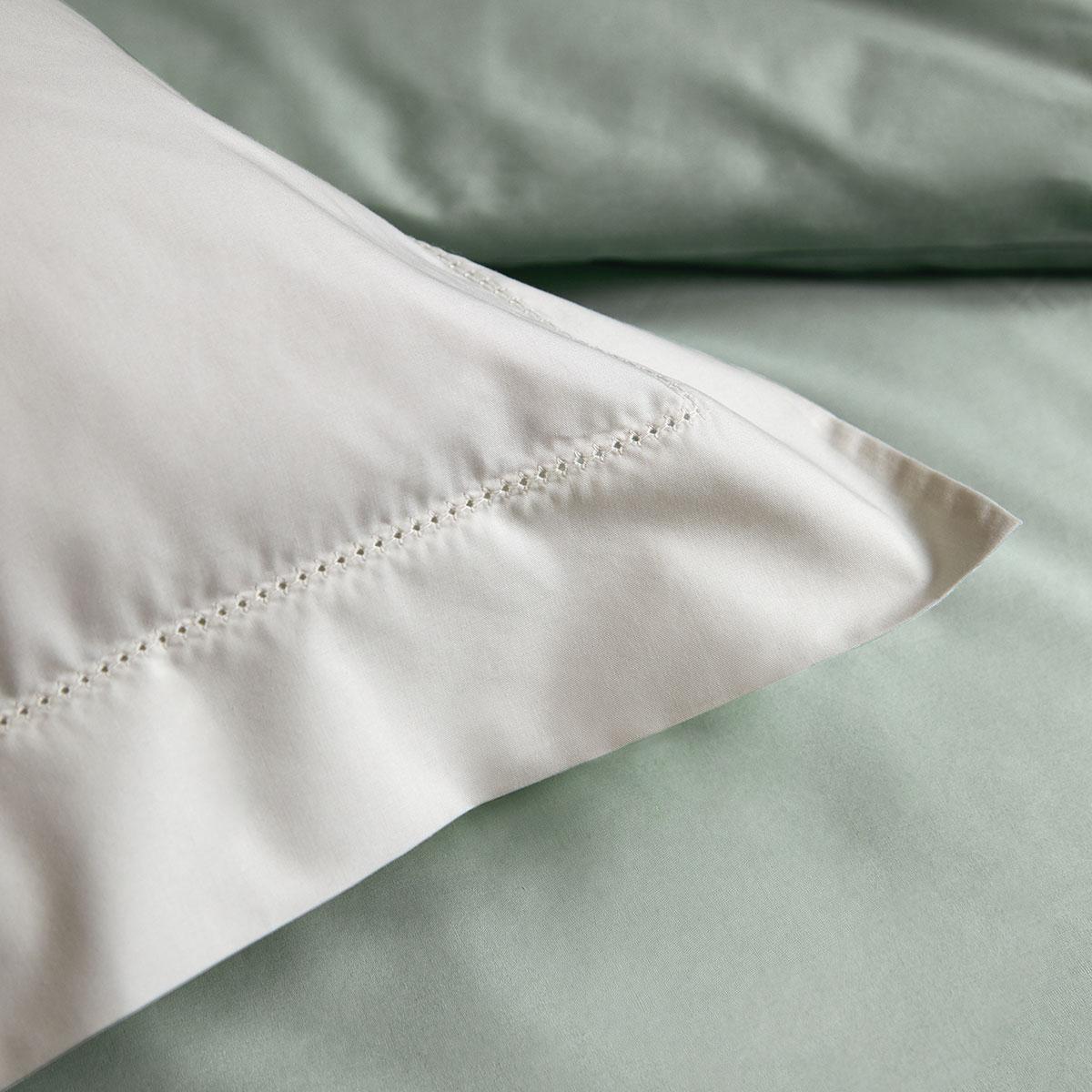 Drap plat percale Blanc 180 x 290 cm