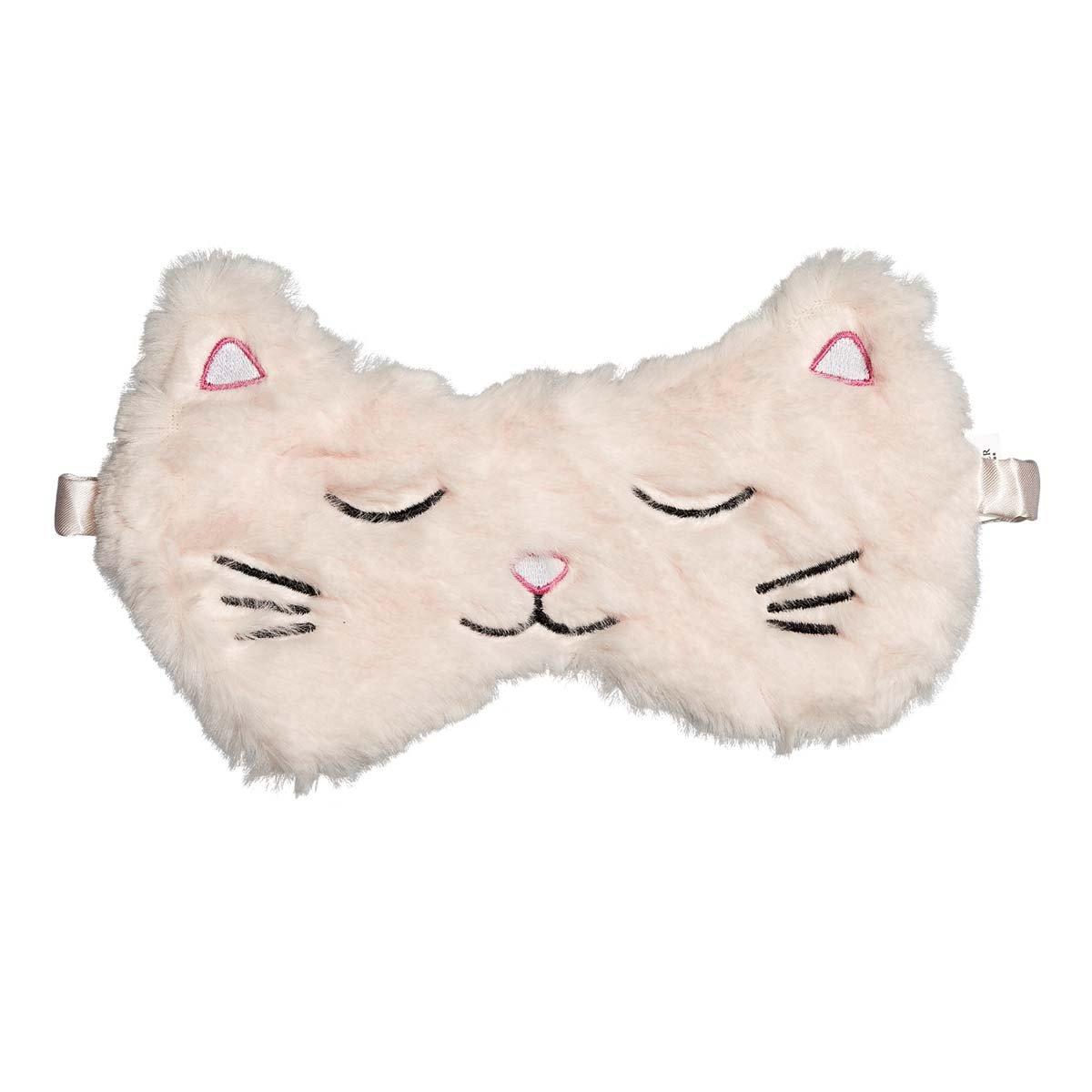 Masque de nuit tête de chat