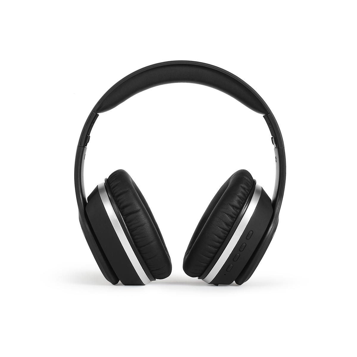 Casque à réduction de bruit compatible Bluetooth® en abs noir