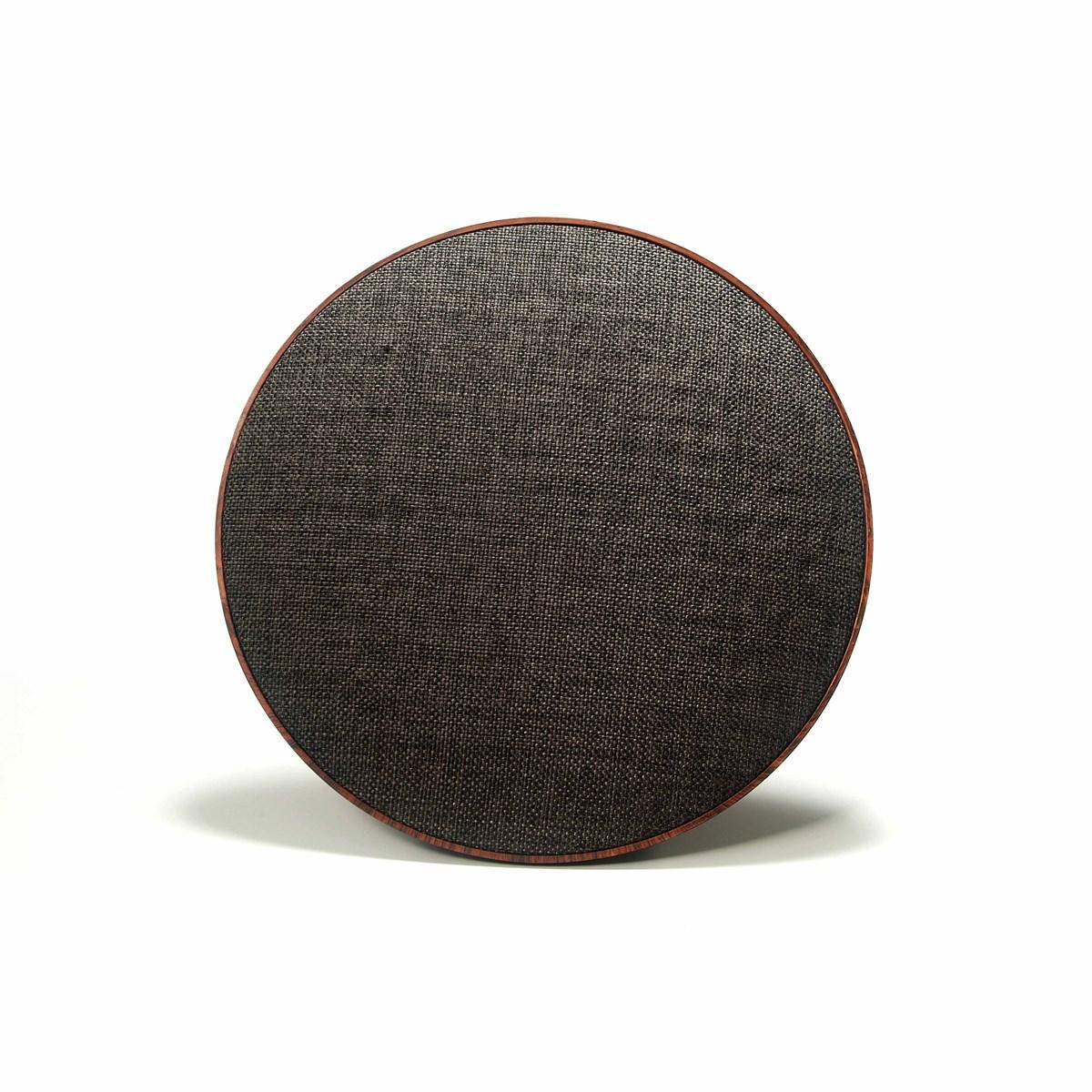 Livoo Haut-parleur compatible Bluetooth en ABS Marron