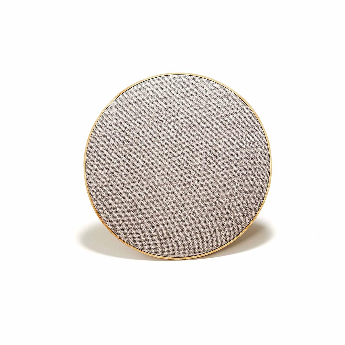 Livoo Haut-parleur compatible Bluetooth en ABS Gris