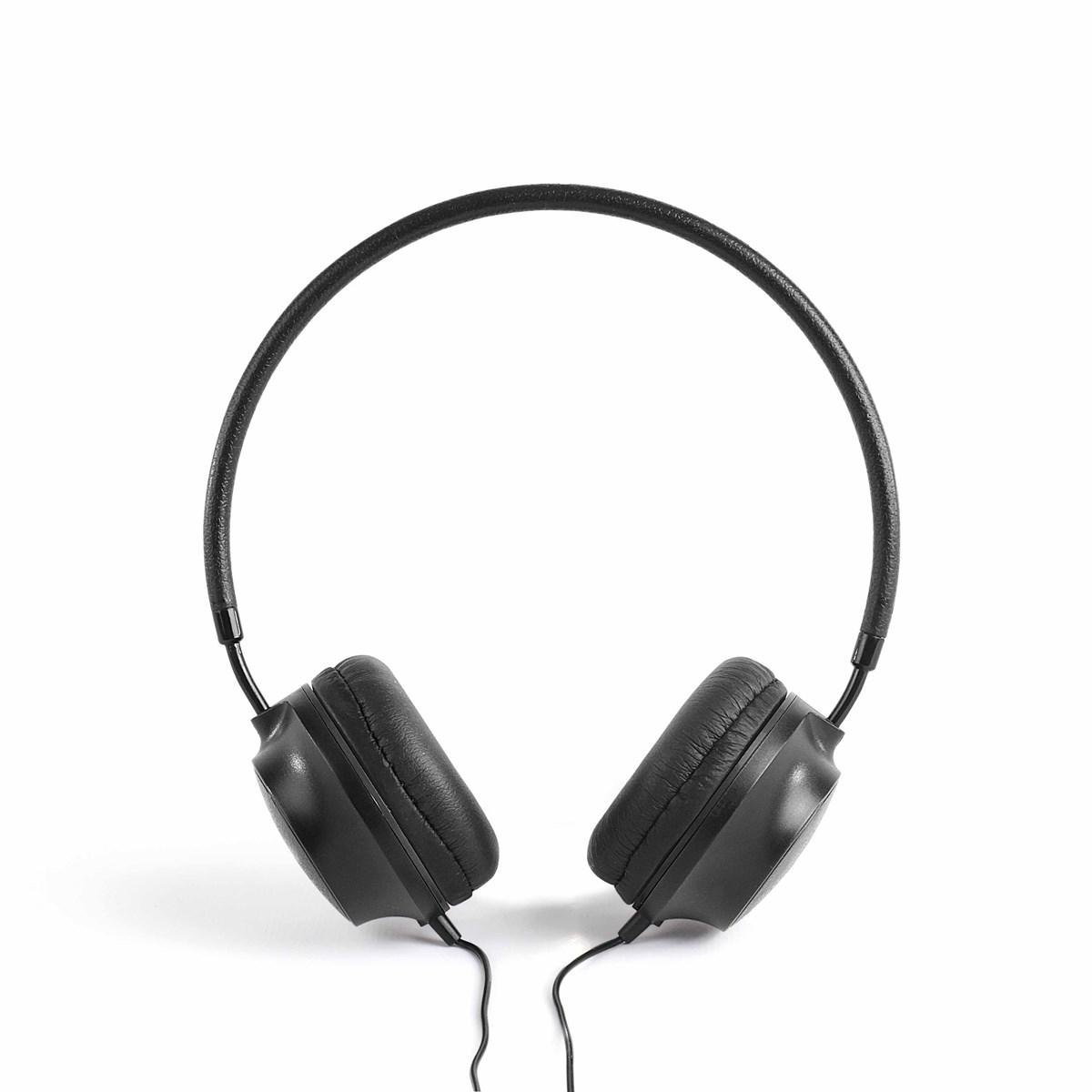 Livoo Casque stereo Hi-Fi en Plastique Noir