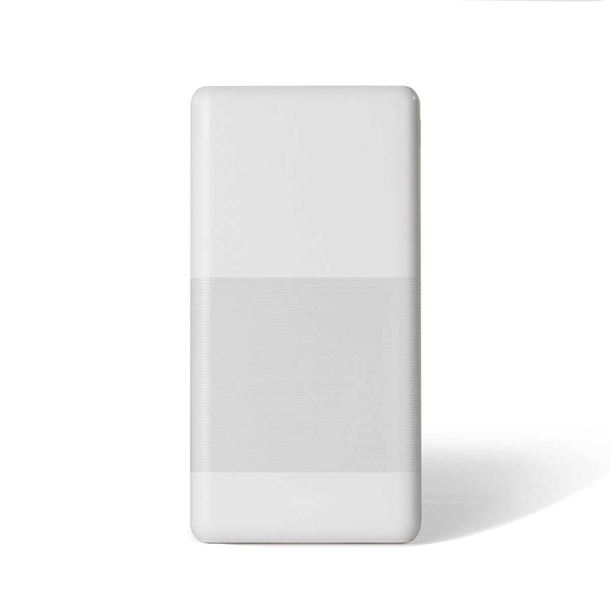 Batterie de secours en abs blanc