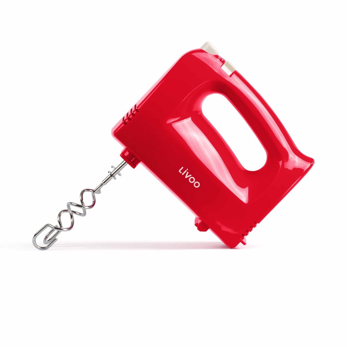 Batteur électrique rouge