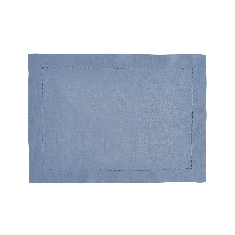 Set de table en lin bleu egée 37x50cm