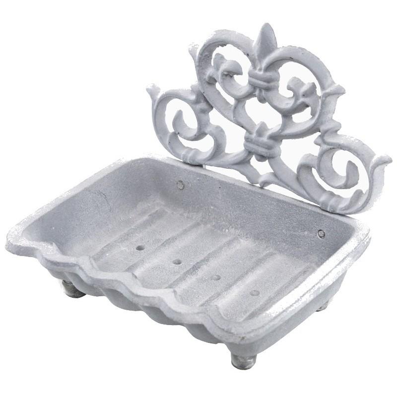 Porte-savon en fonte grise