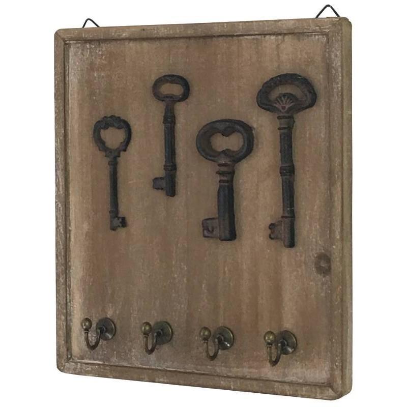 Boîte à clé porte clés clefs mural bois clef