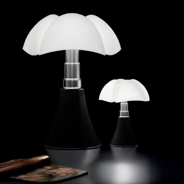 Lampe Dimmer LED pied télescopique noir H66-86cm