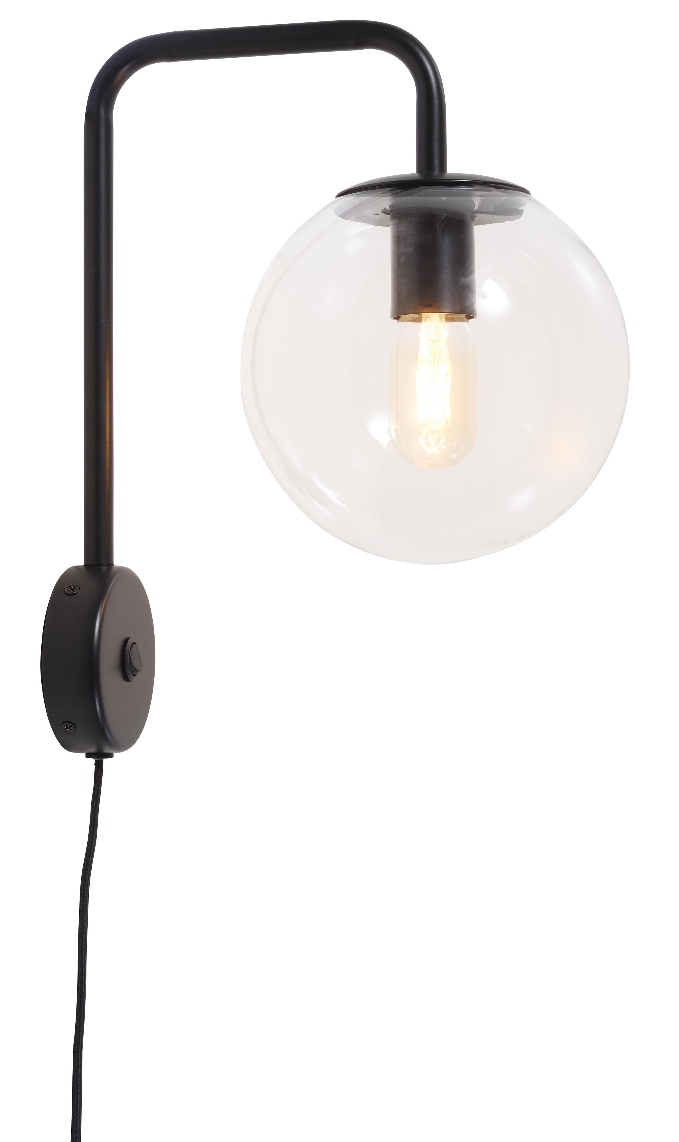 Applique noire H38cm