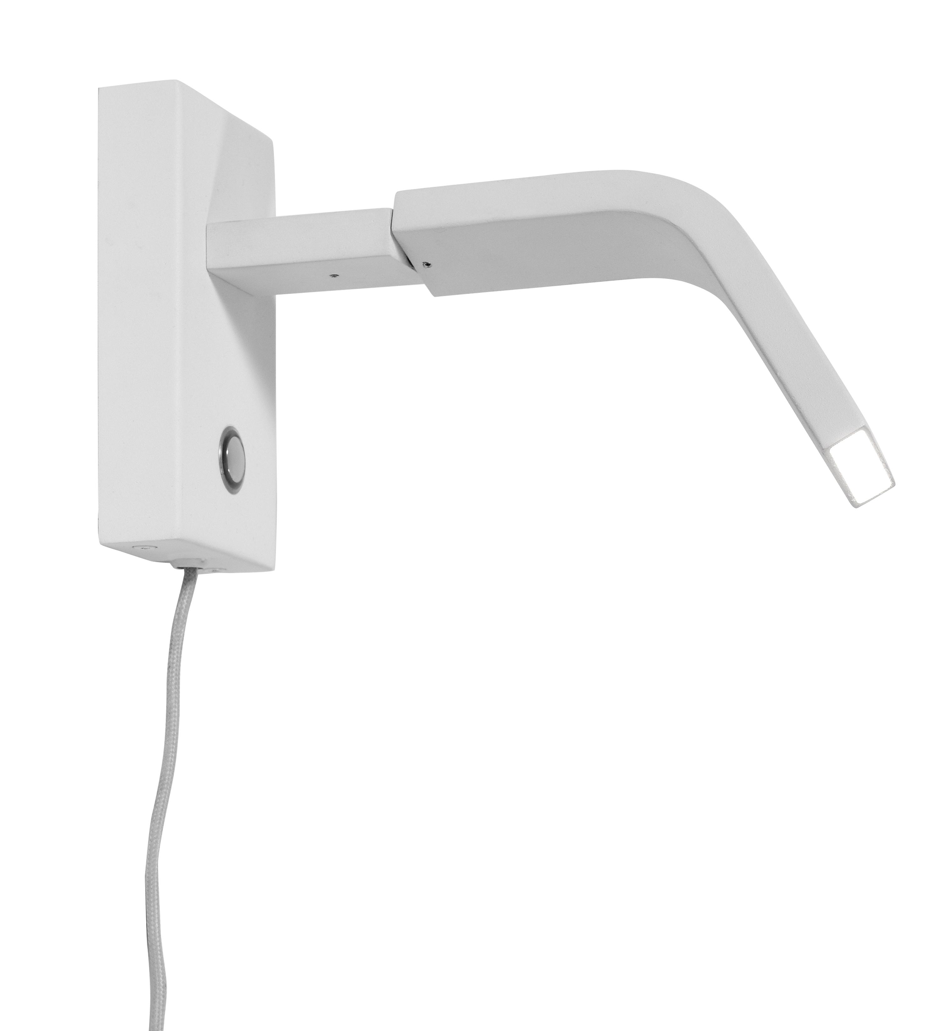 Applique blanche H14cm