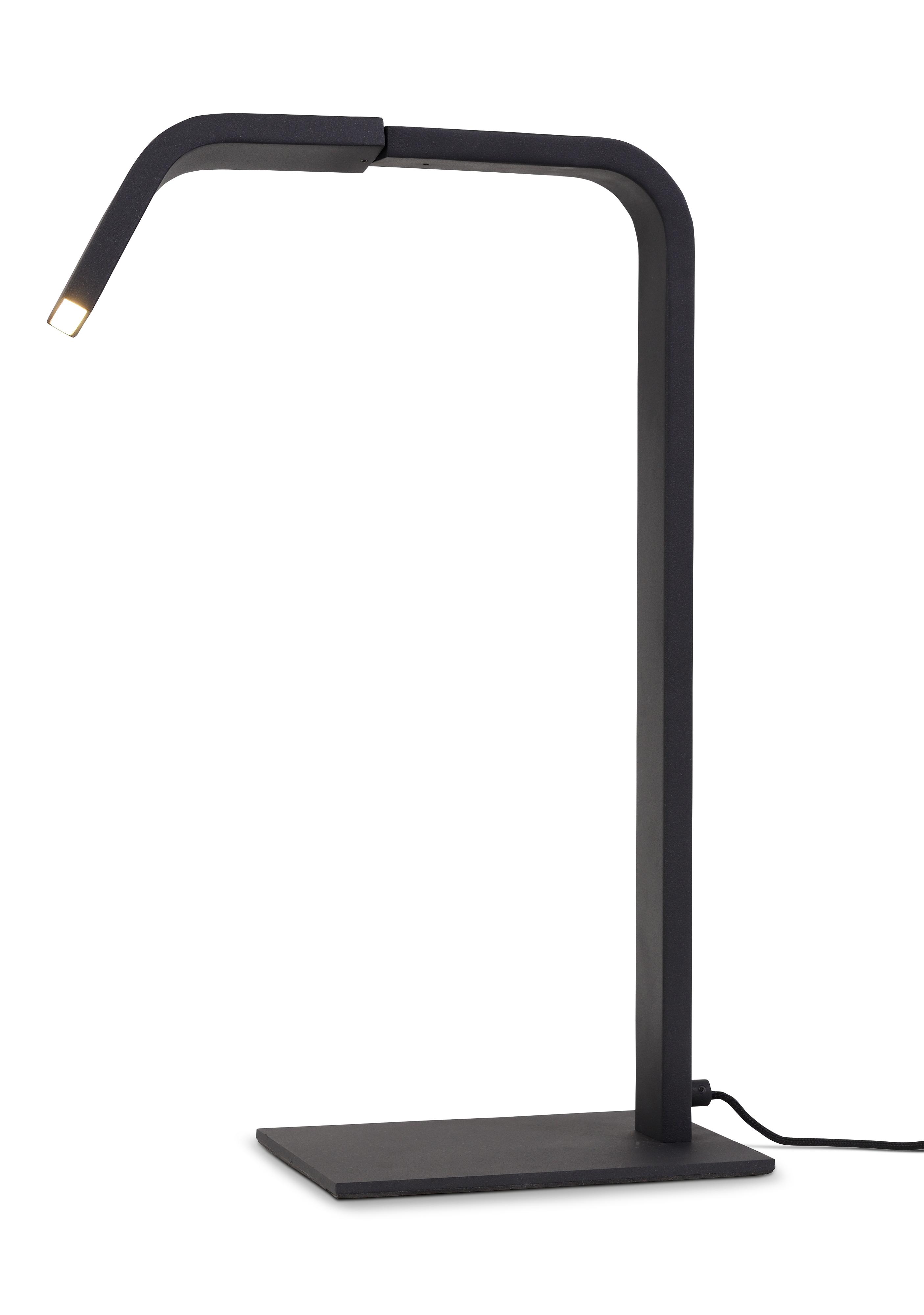 Lampa de table noire H48cm
