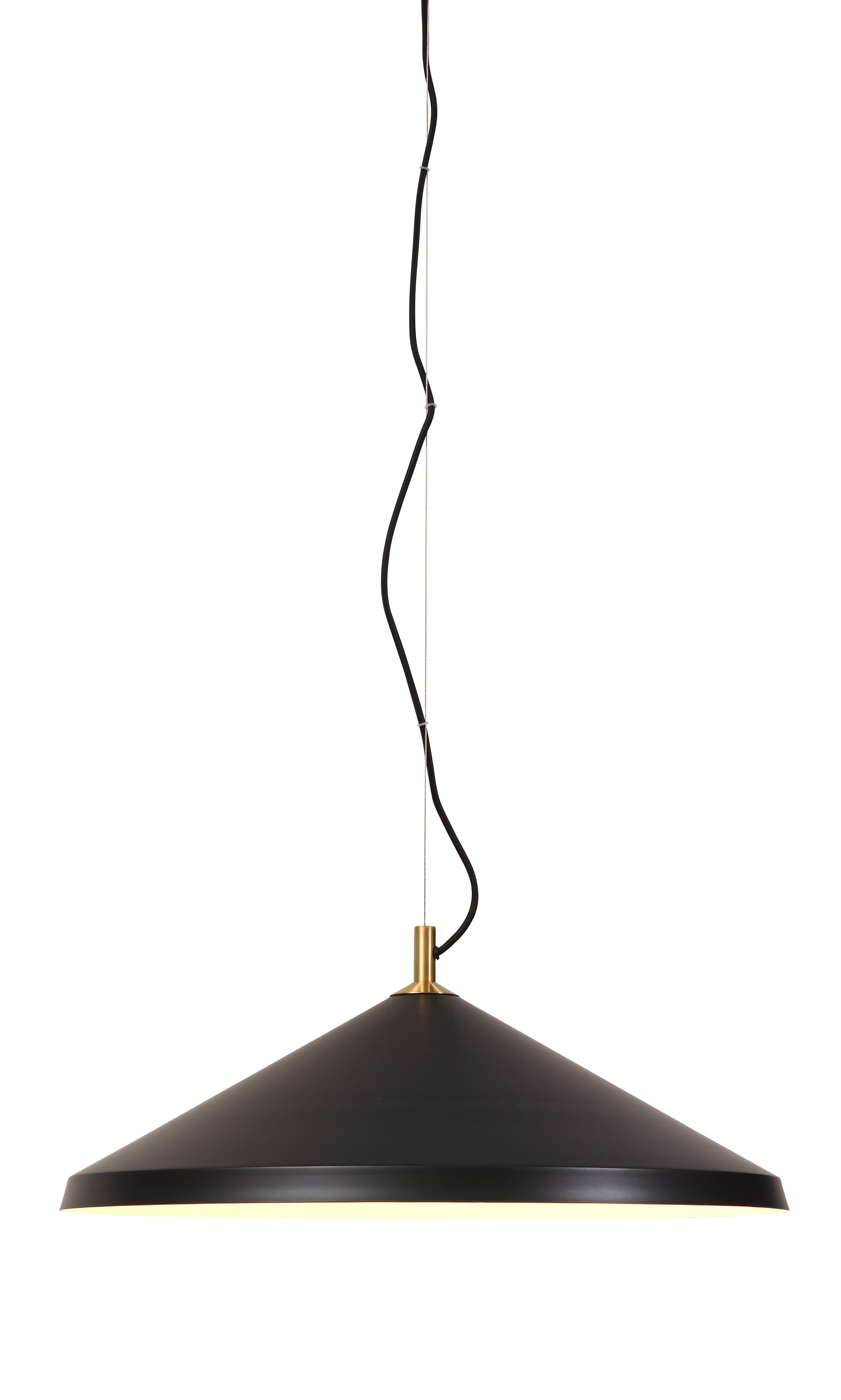 Suspension noire H133cm