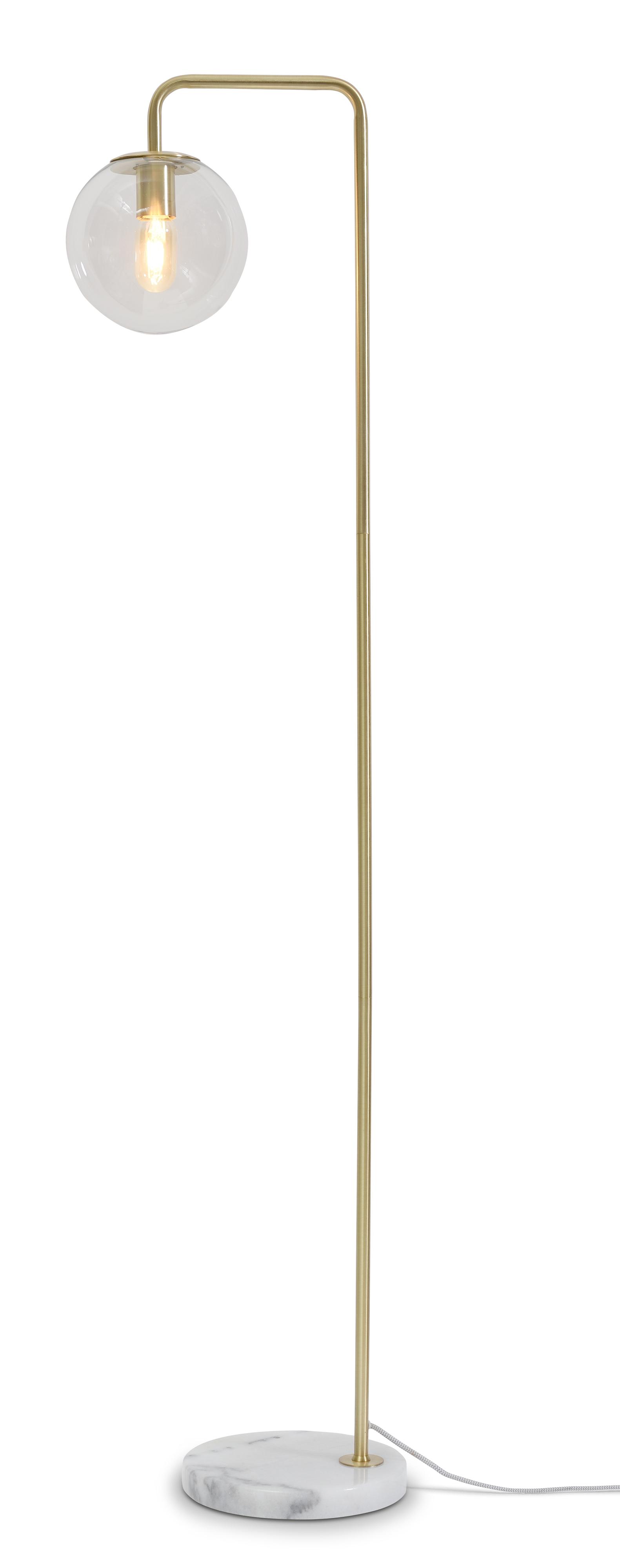 Lampadaire doré H156cm