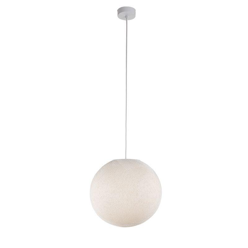 Suspension simple globe M écru