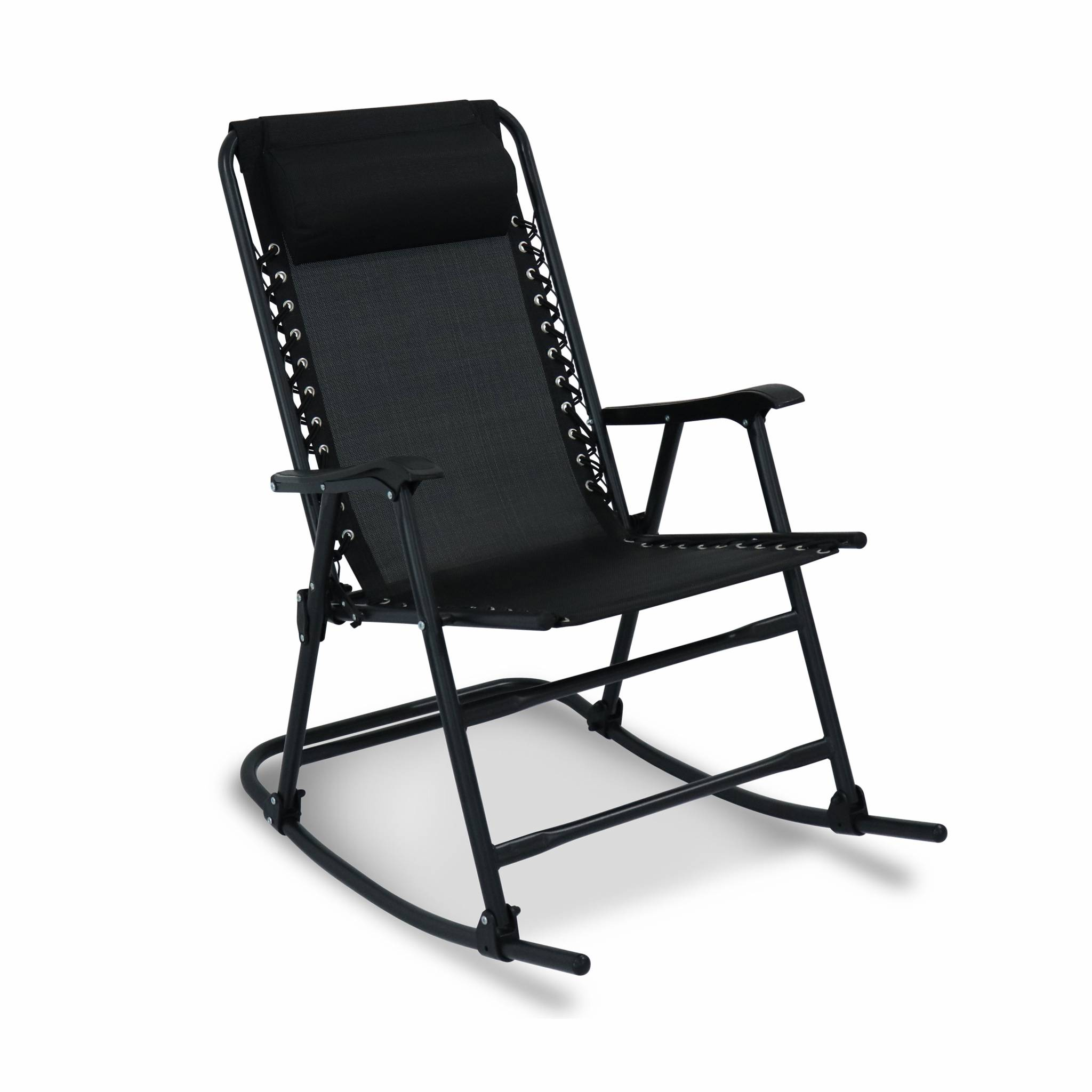 Fauteuil à bascule design rocking chair pliable