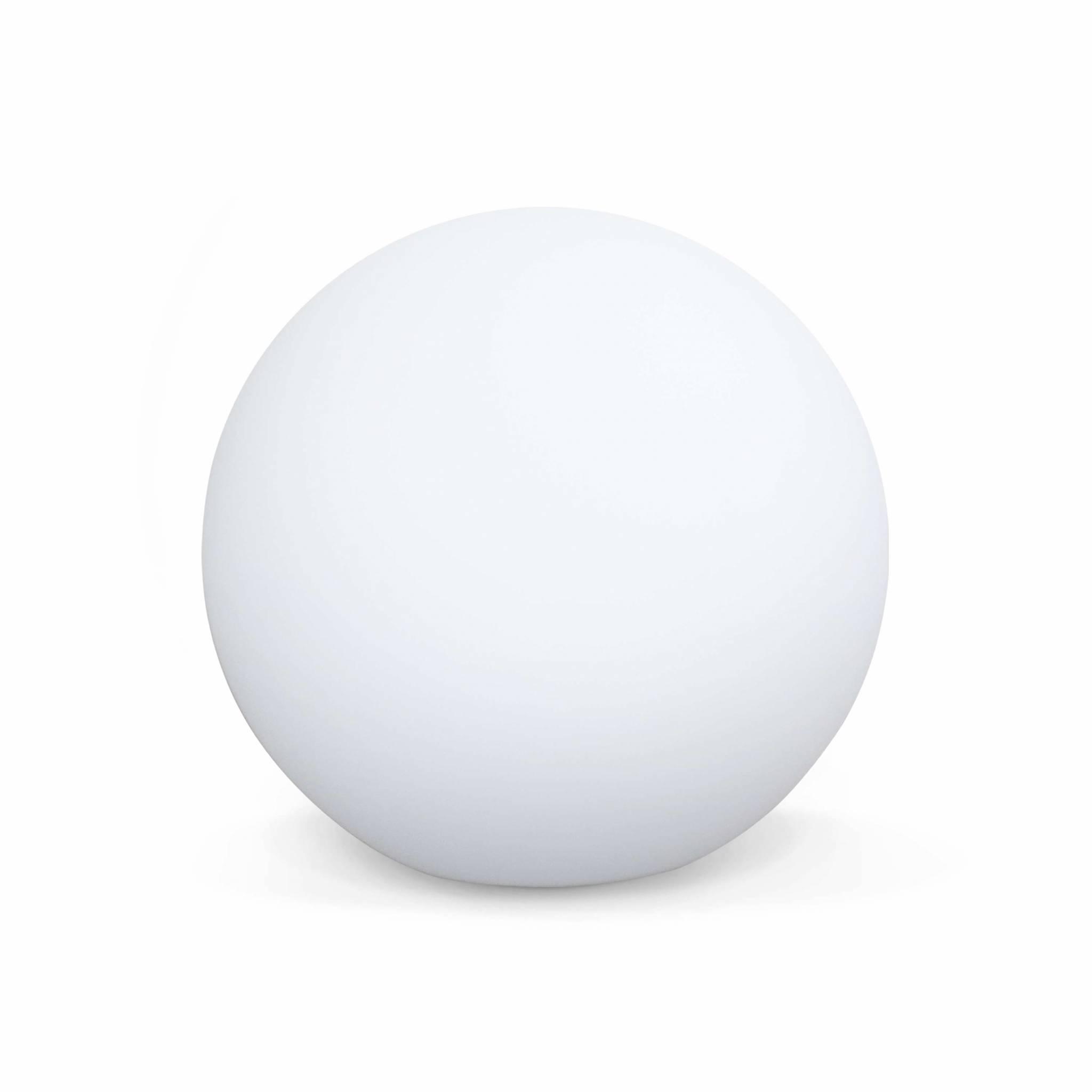 Boule led 50cm – sphère décorative lumineuse D50cm blanc chaud
