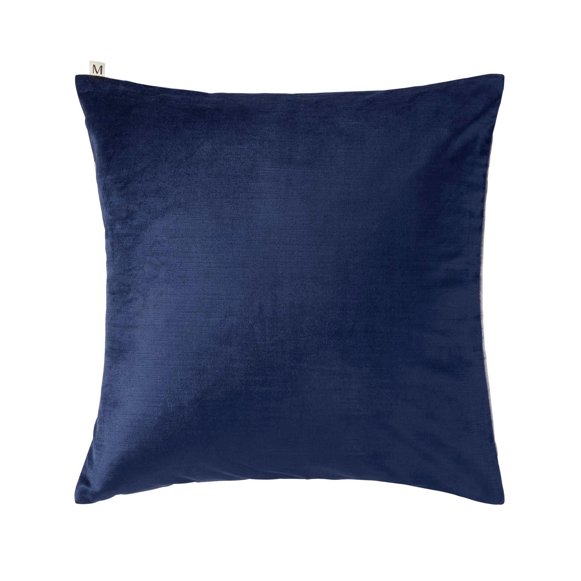 Housse de coussin 60x60 cm Bleu marine