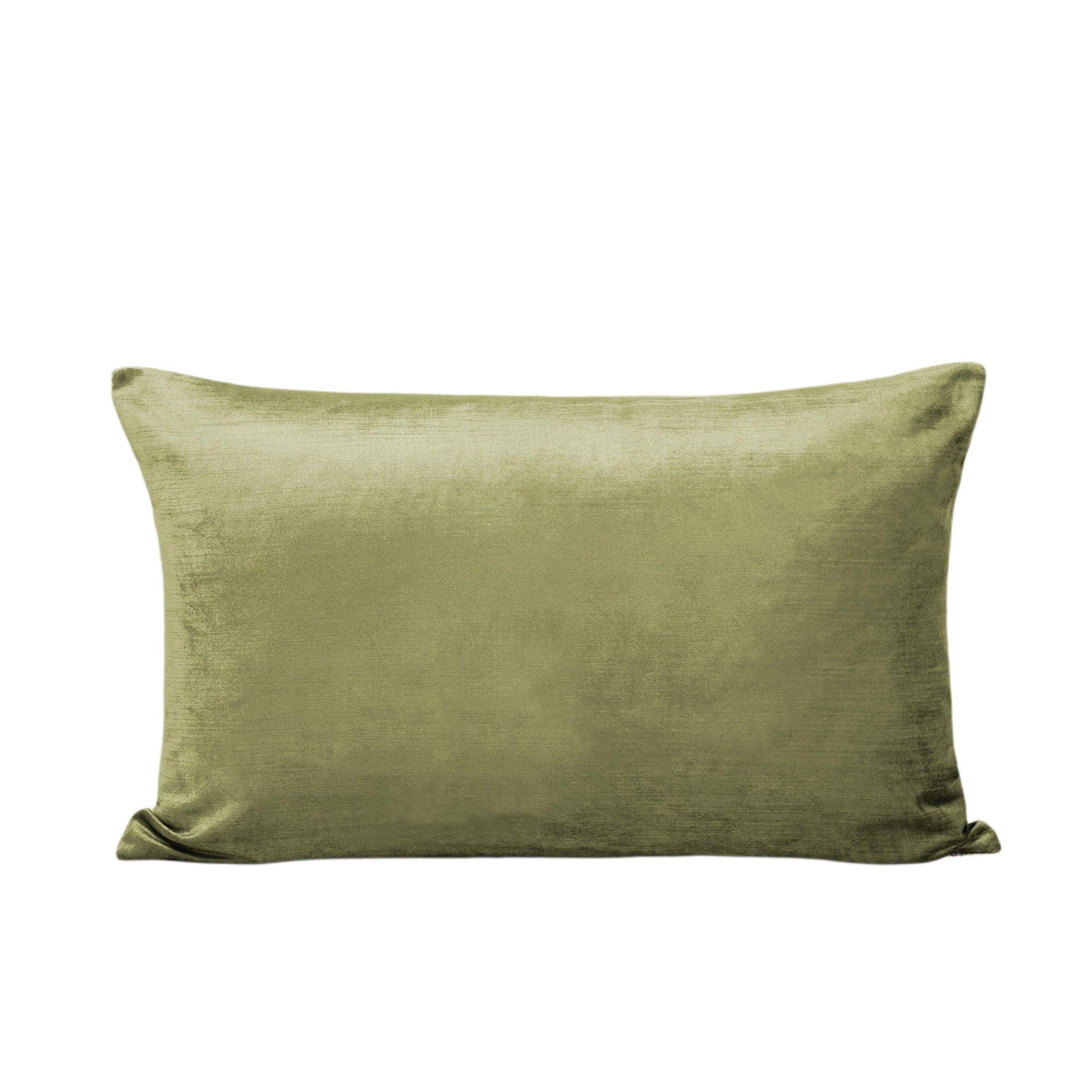 Housse de coussin 40x60 cm Vert olive