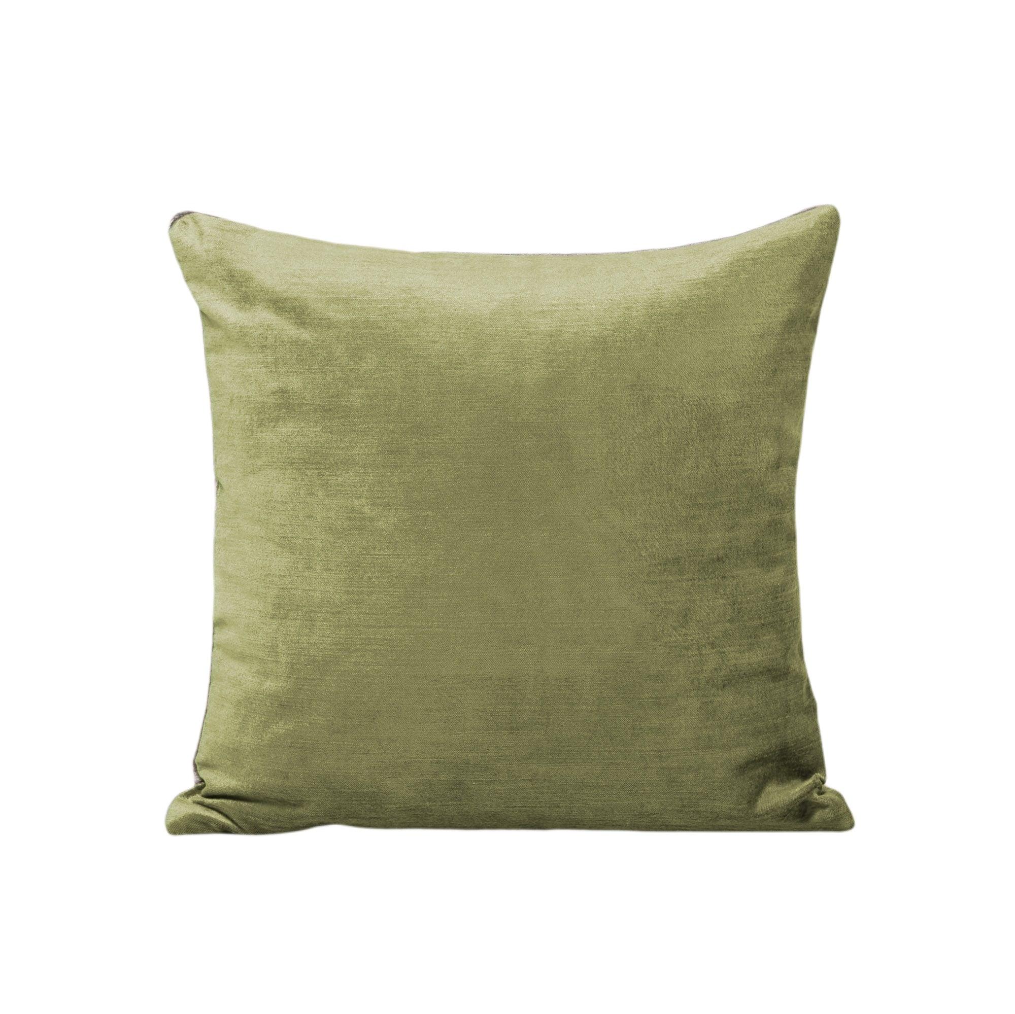Housse de coussin 50x50 cm Vert olive