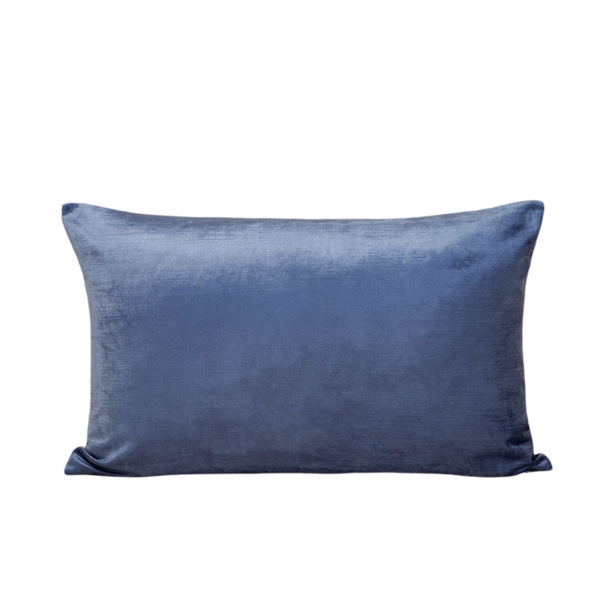 Housse de coussin 40x60 cm Bleu glacier