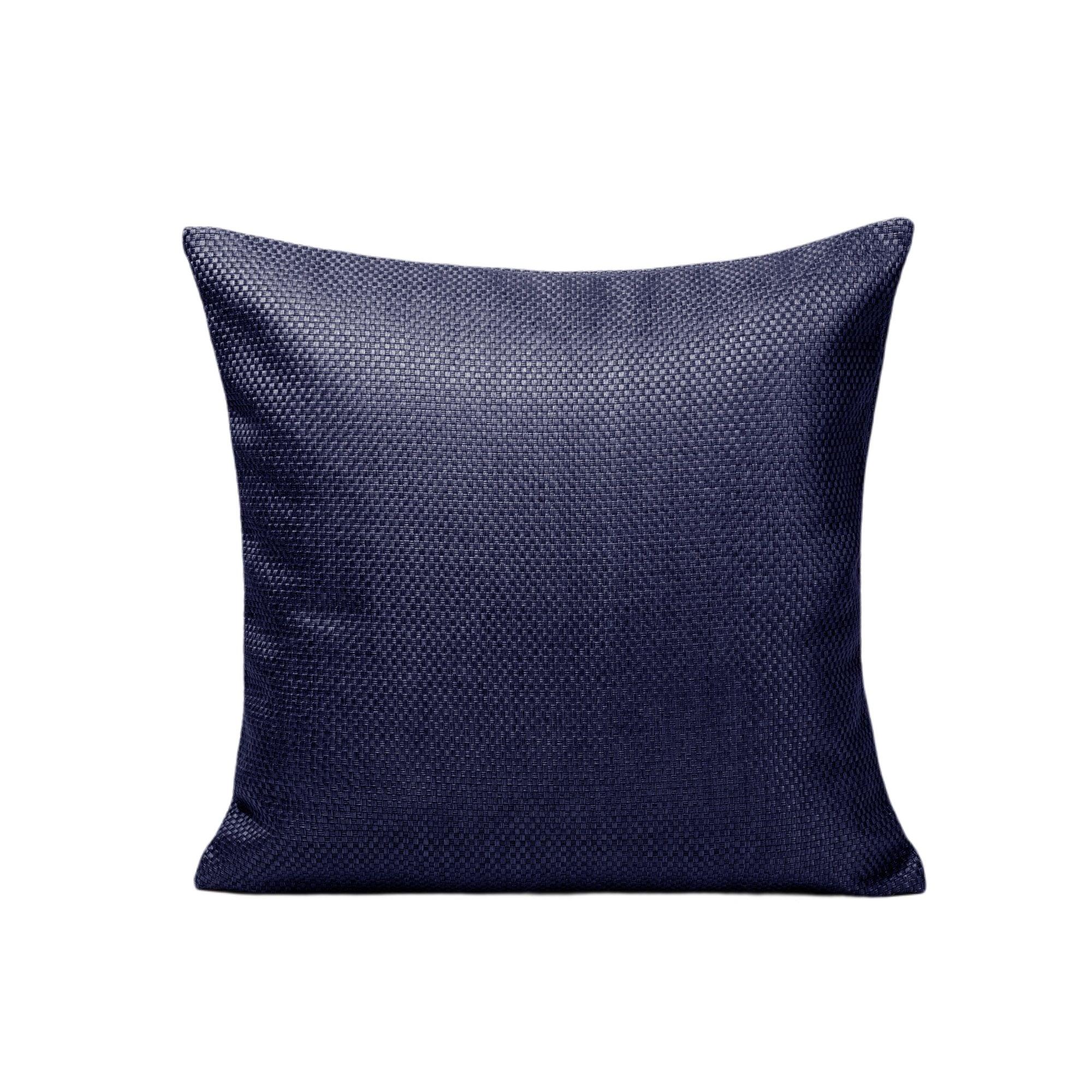 Housse de coussin 50x50 cm Bleu nuit